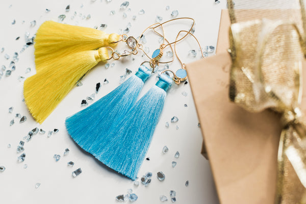 earrings tassels spring summer