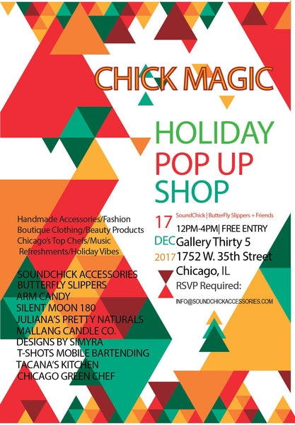 holiday pop up shop chicago vendors shopping
