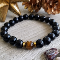 Indonesian Ebony Blackwood With Brown Tigers Eye