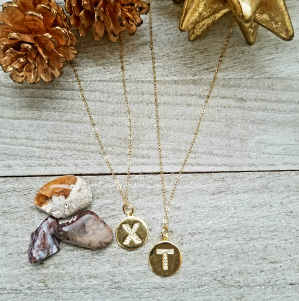 Gold-Filled Custom Initial Charm Chain