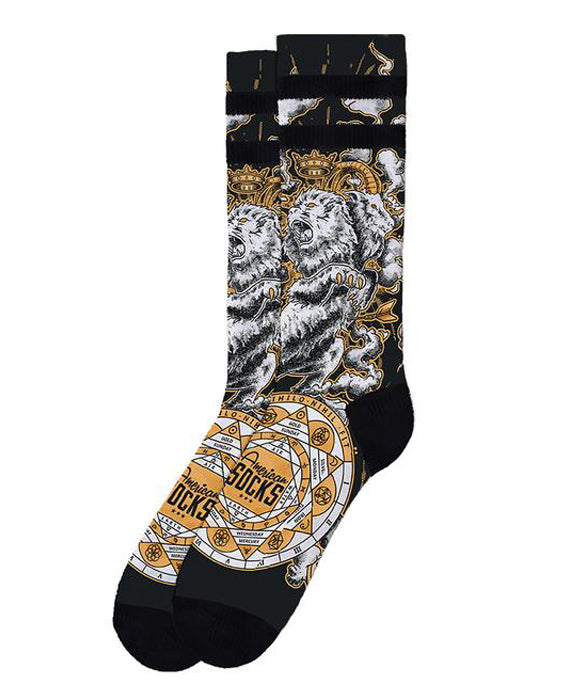 American Socks Alchemy Chimera Mid-High Skater Socks | Rebel Rebel Bruges