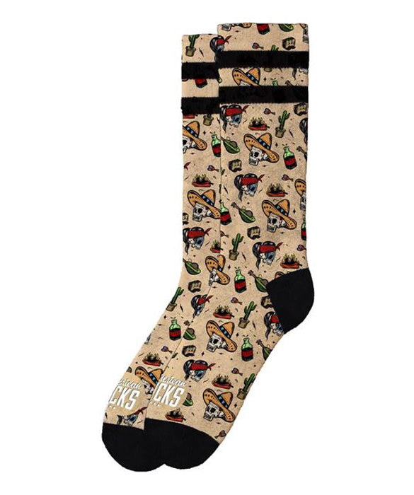 American Socks Tortilla Mid-High Skate Socks | Rebel Rebel Bruges