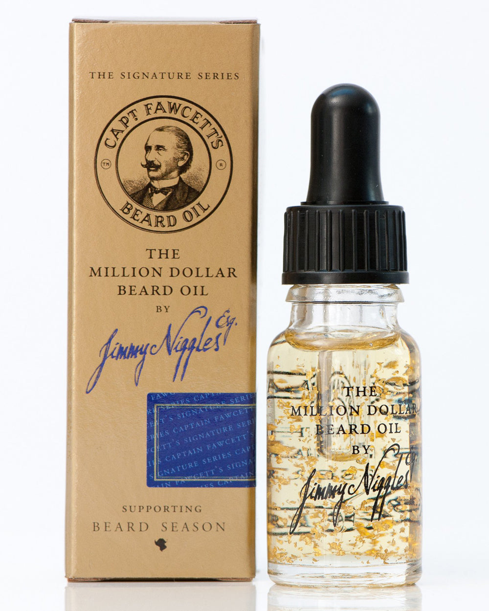 Captain Fawcett's Million Dollar Beard Oil