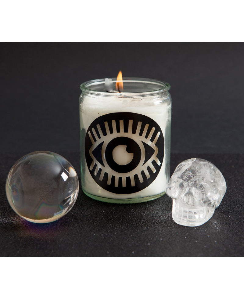 Third Eye Gothic Glass Jar Candle | Rebel Rebel Bruges