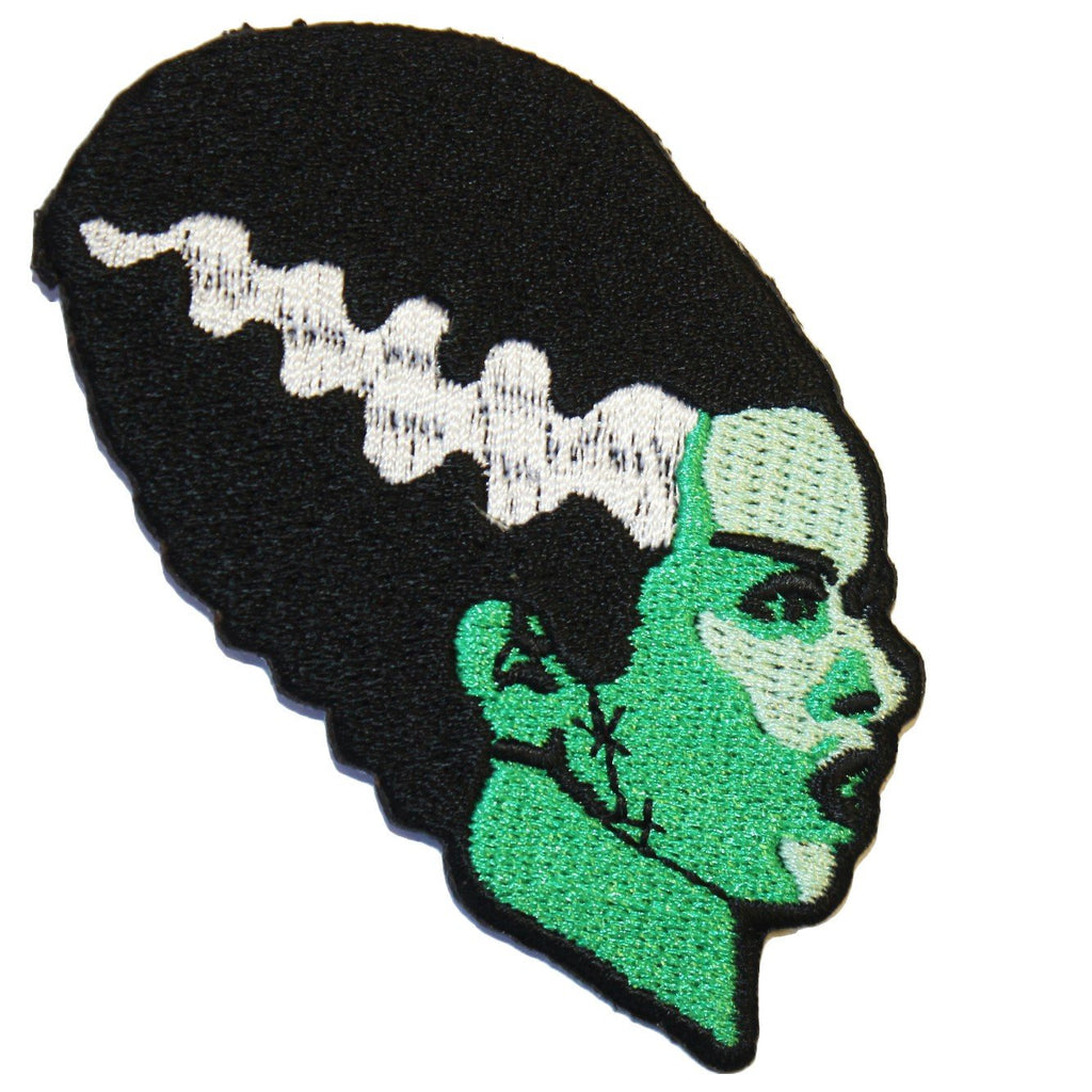 Bride Of Frankenstein Monster Iron-On Patch | Rebel Rebel Bruges