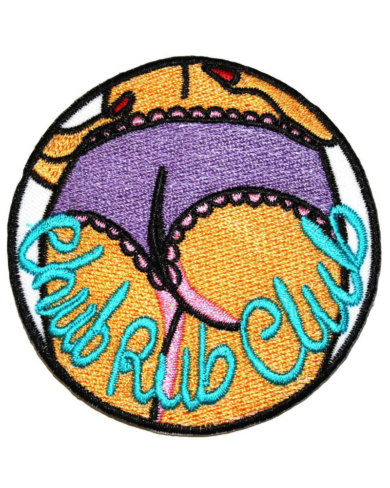 Chub Rub Club Iron-On Patch | Rebel Rebel Bruges