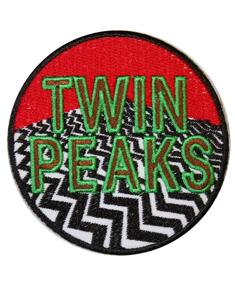 Twin Peaks Red Room Cult Iron-On Patch | Rebel Rebel Bruges