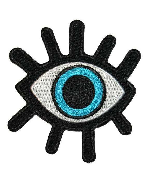 Eye & Eyelashes Alternative Iron-On Patch | Rebel Rebel Bruges