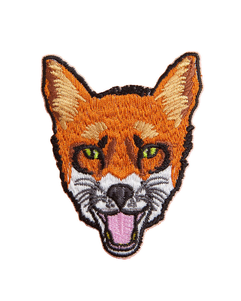 Fox Head Vintage Iron-On Patch | Rebel Rebel Bruges