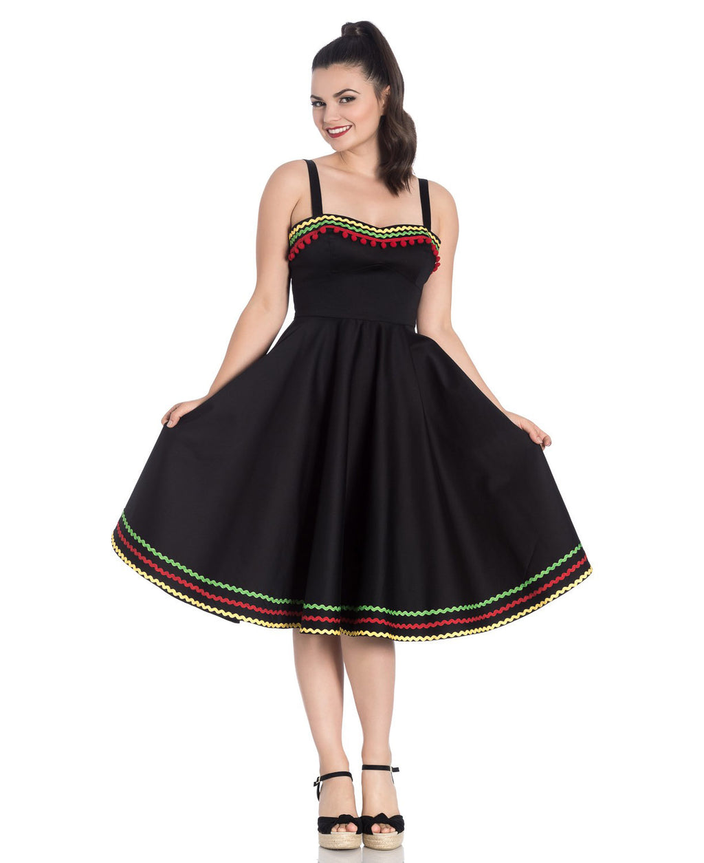 Hell Bunny Marianne Vintage Mexican Swing Dress | Rebel Rebel Bruges