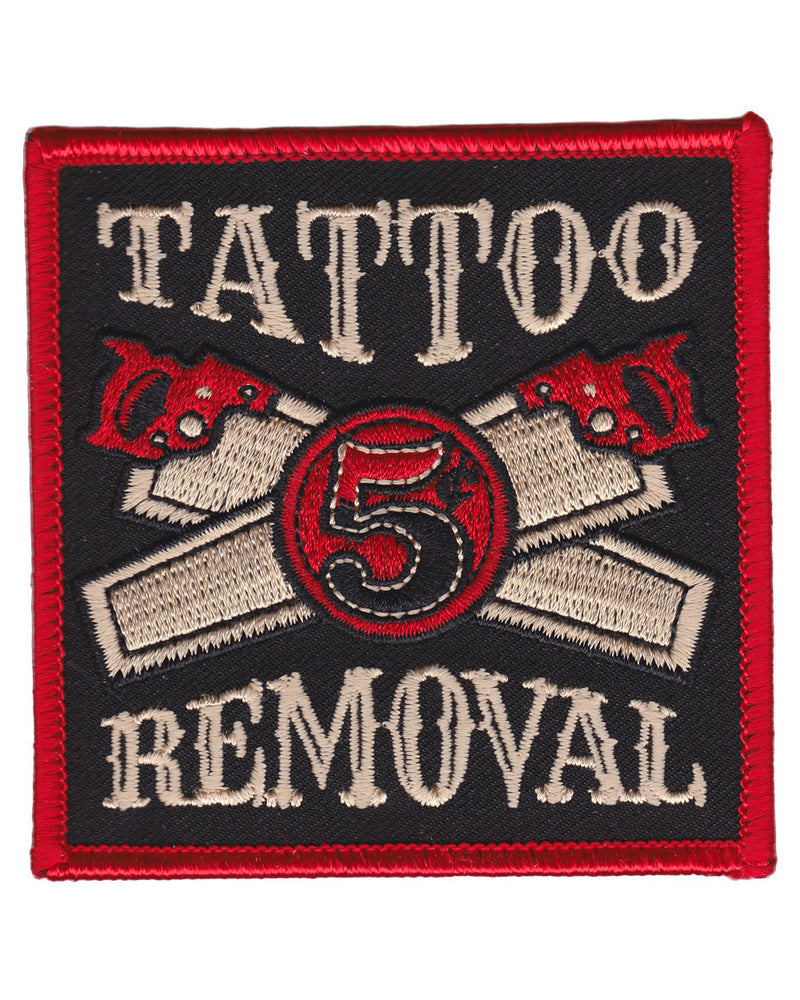 Kustom Kreeps Tattoo Removal Iron-On Patch | Rebel Rebel Bruges