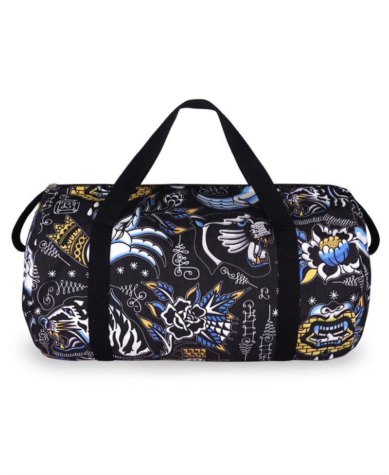 Liquorbrand Sak Yant Tattoo Flash Duffle Bag | Rebel Rebel Bruges