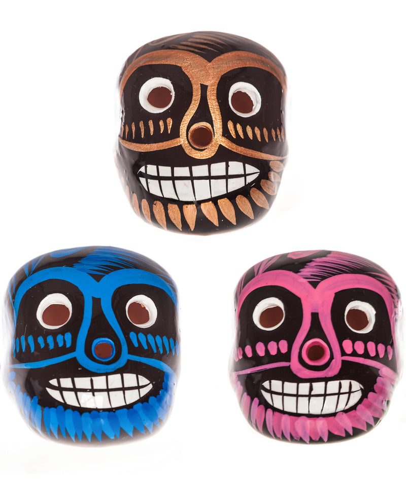 Mexican Mob Mexican Ceramic Lucha Sugar Skull | Rebel Rebel Bruges