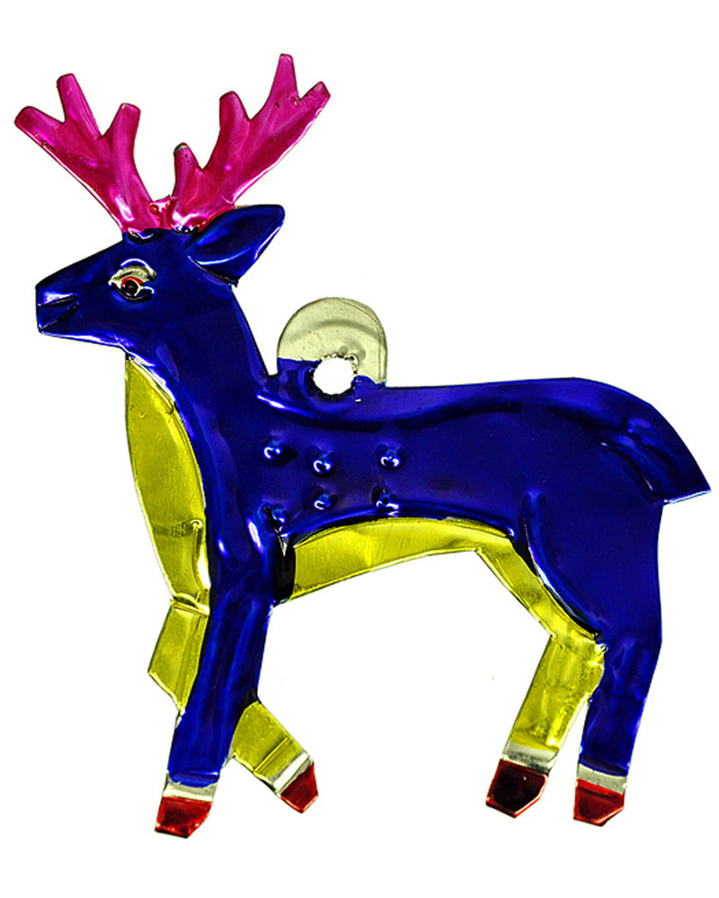 Mexican Mob Stag Deer Tin Decoration Ornament | Rebel Rebel Bruges
