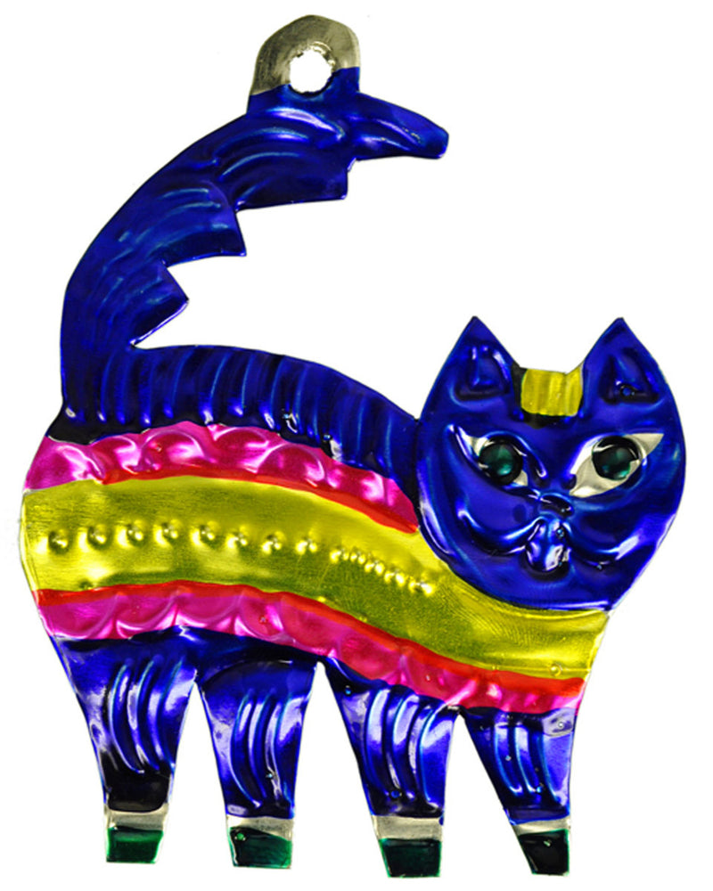 Mexican Mob Cheshire Cat Tin Decoration Ornament | Rebel Rebel Bruges