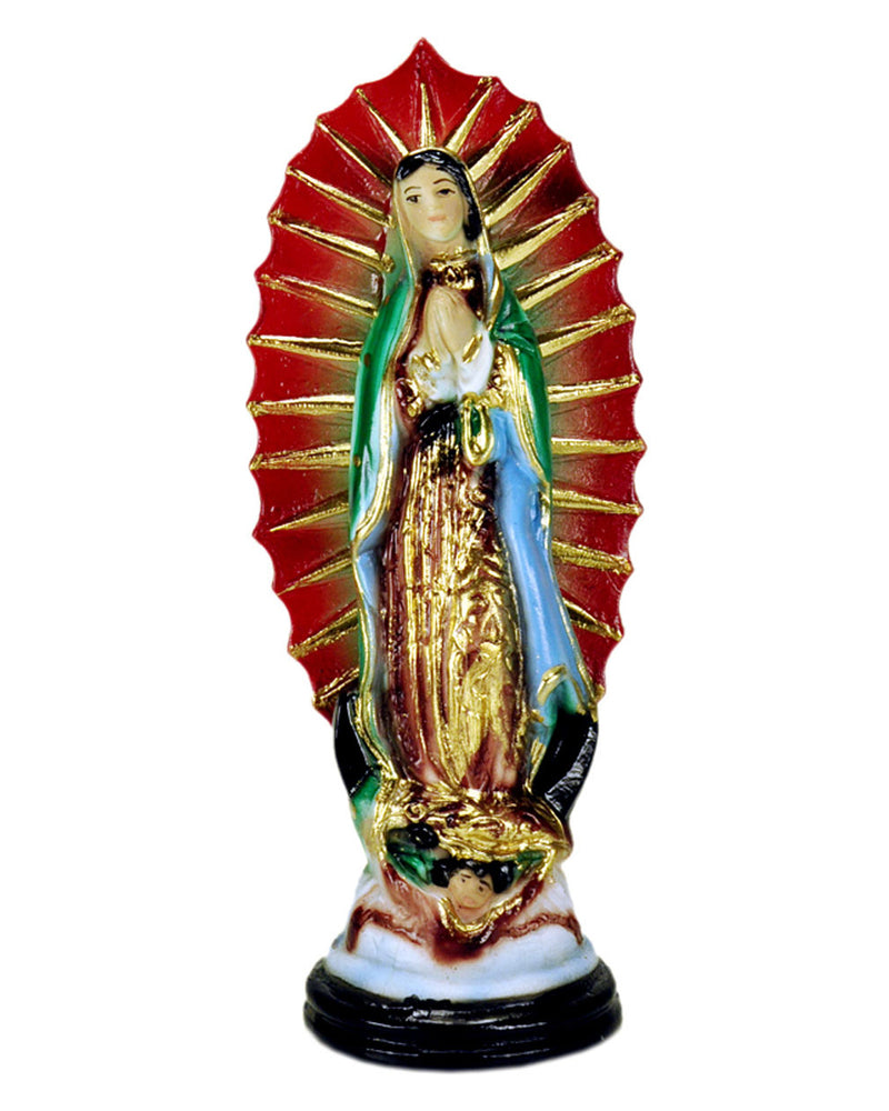Mexican Mob Virgin de Guadalupe Red Statue | Rebel Rebel Bruges