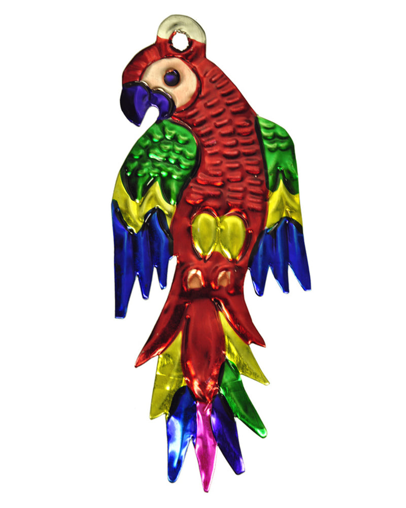 Mexican Mob Exotic Parrot Tin Decoration Ornament | Rebel Rebel Bruges