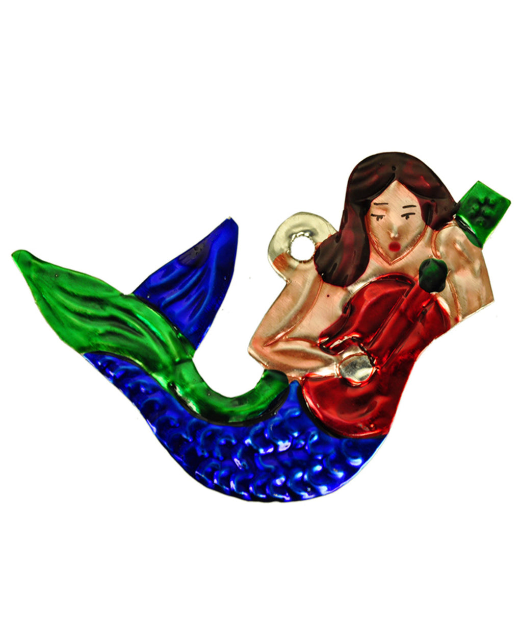 Mexican Mob Sea Siren Mermaid Tin Ornament | Rebel Rebel Bruges