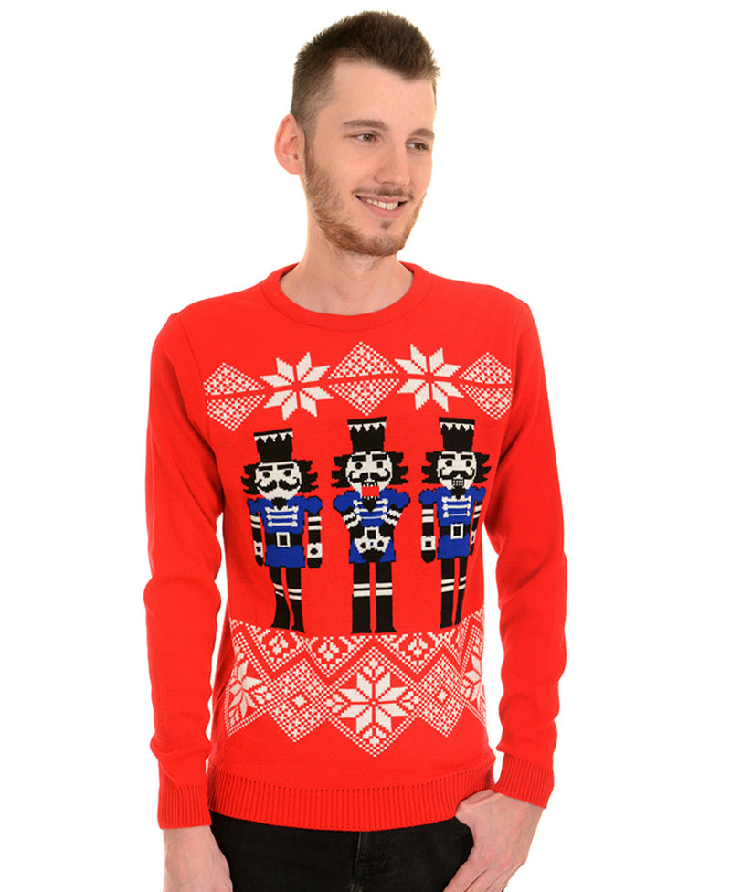 Run & Fly Nutcrackers Christmas Jumper