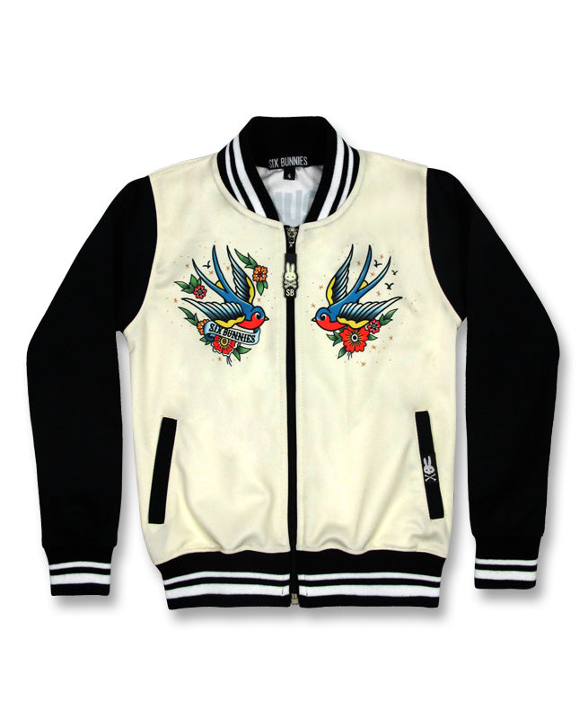 Six Bunnies Old School Sailor Tattoo Kid's Jacket | Rebel Rebel Bruges