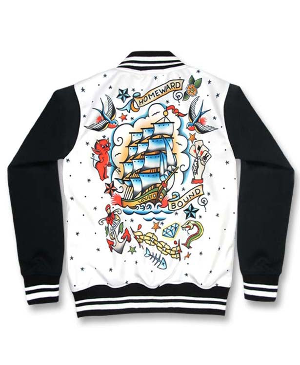 Six Bunnies Homeward Bound Tattoo Kid's Jacket | Rebel Rebel Bruges