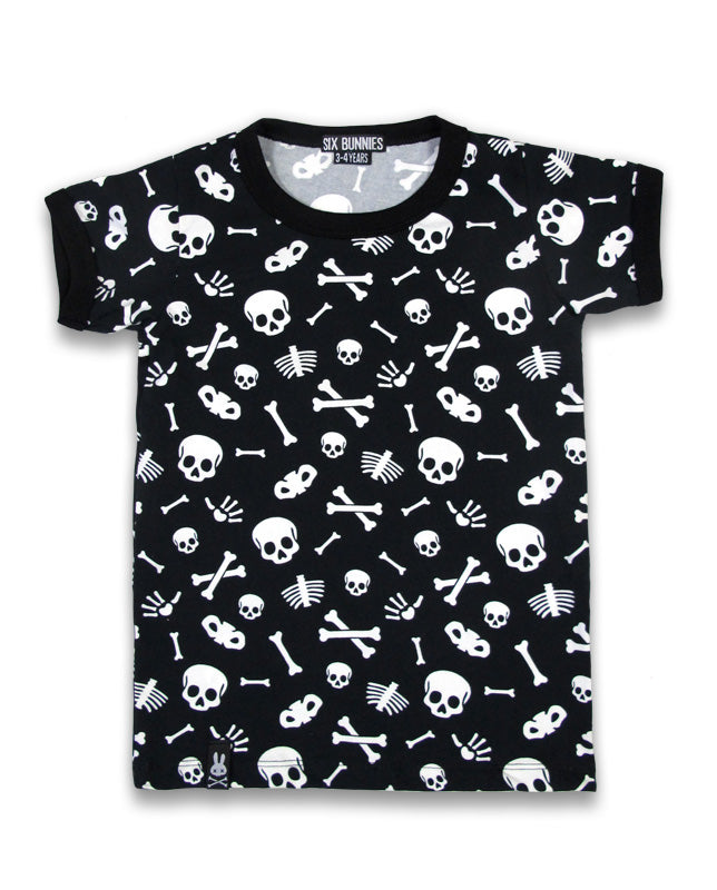 Six Bunnies Bones Alternative Kid's T-Shirt | Rebel Rebel Bruges