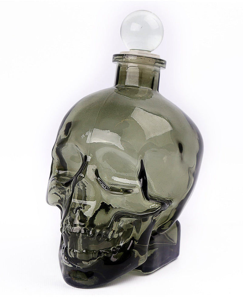 Glass Skull Drinking Decanter | Rebel Rebel Bruges