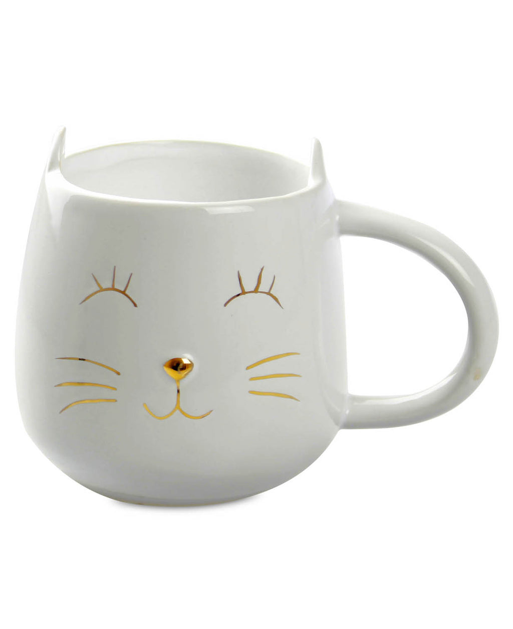 Pussy Cat Ears Cute Kawaii Ceramic Coffee Mug | Rebel Rebel Bruges
