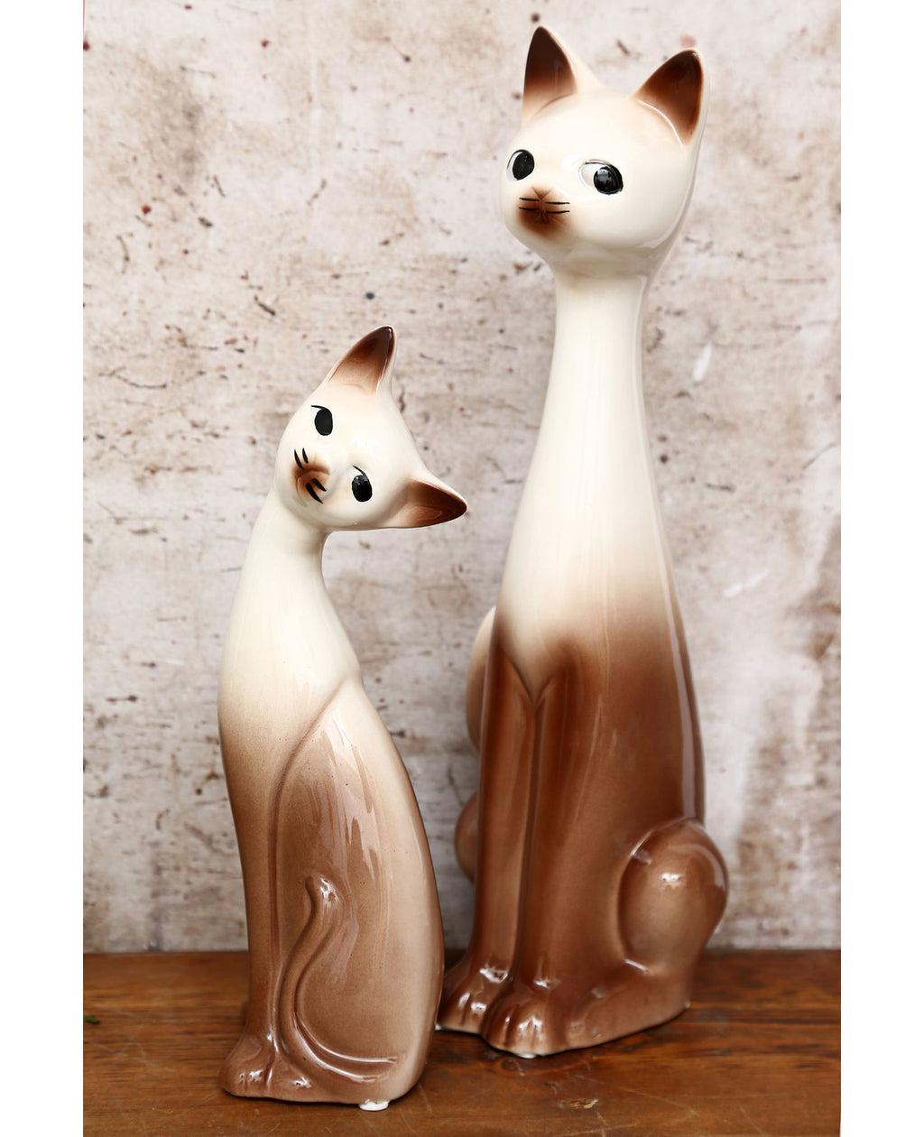 Vintage 1970's Cat Ornaments