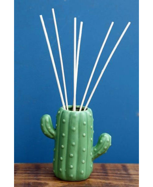 Cactus Kitsch Reed Fragrance Diffuser | Rebel Rebel Bruges