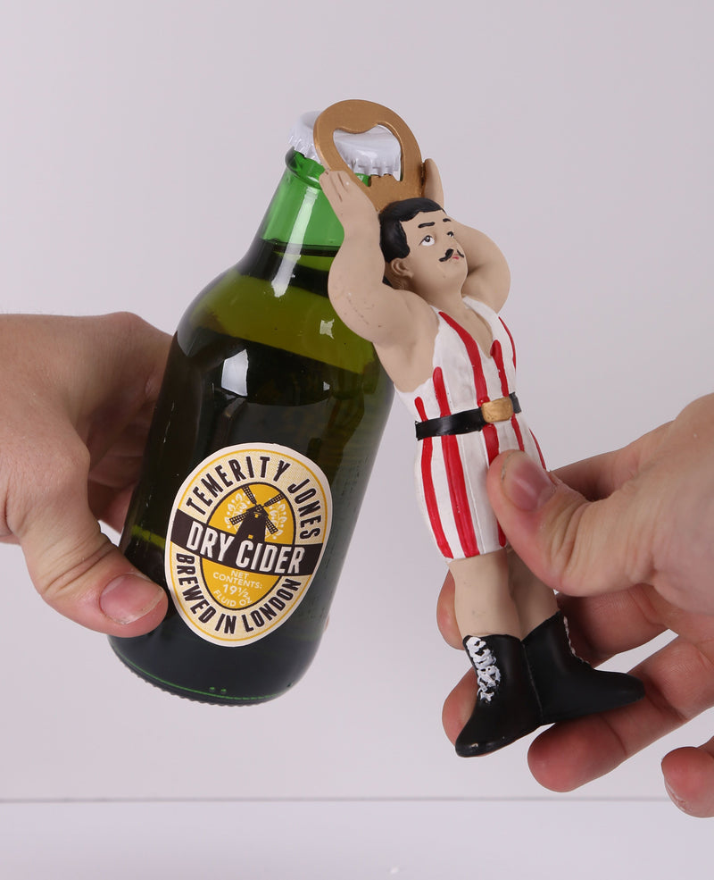 Strongman Carnival Novelty Circus Bottle Opener | Rebel Rebel Bruges