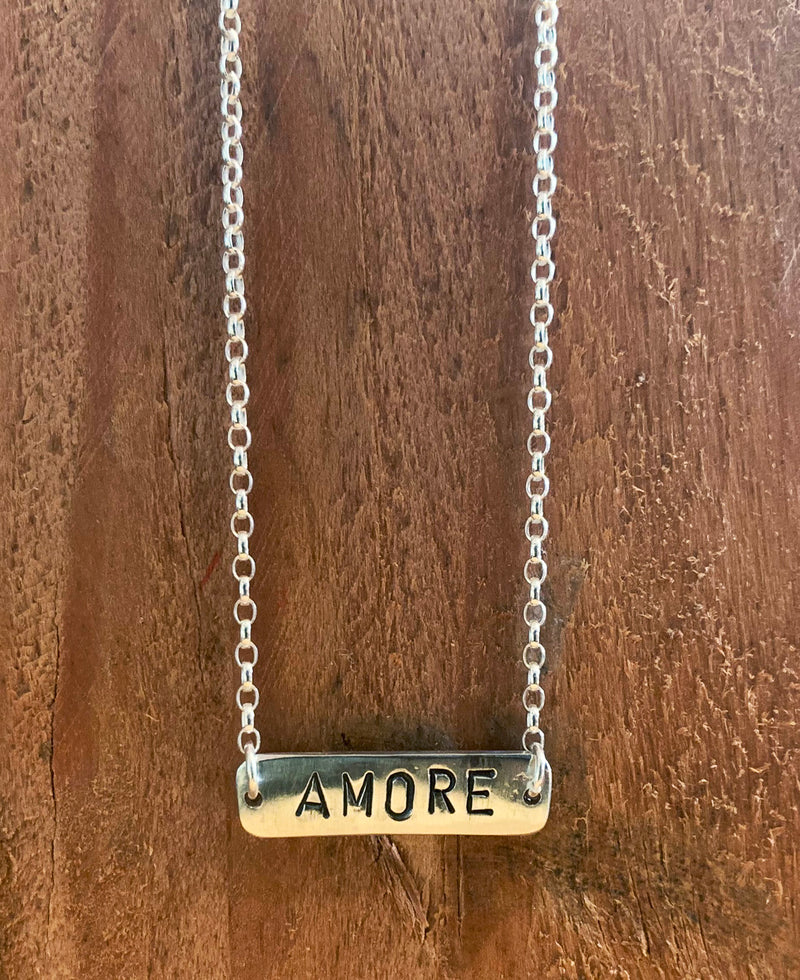 Handmade Sterling Silver The Basic Necklace Amore | Rebel Rebel Bruges