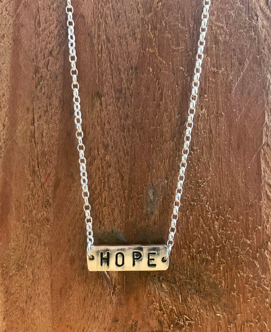Handmade Sterling Silver The Basic Necklace Hope | Rebel Rebel Bruges