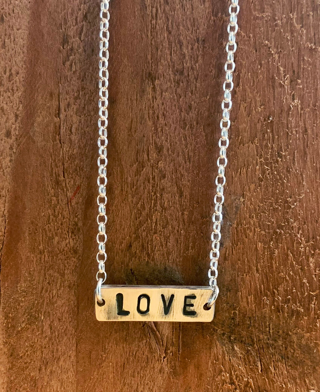 Handmade Sterling Silver The Basic Necklace Love | Rebel Rebel Bruges