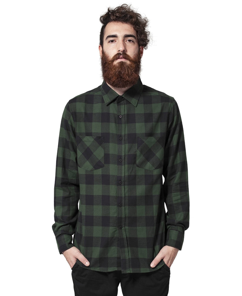 Black & Forest Check Lumberjack Rockabilly Shirt | Rebel Rebel Bruges