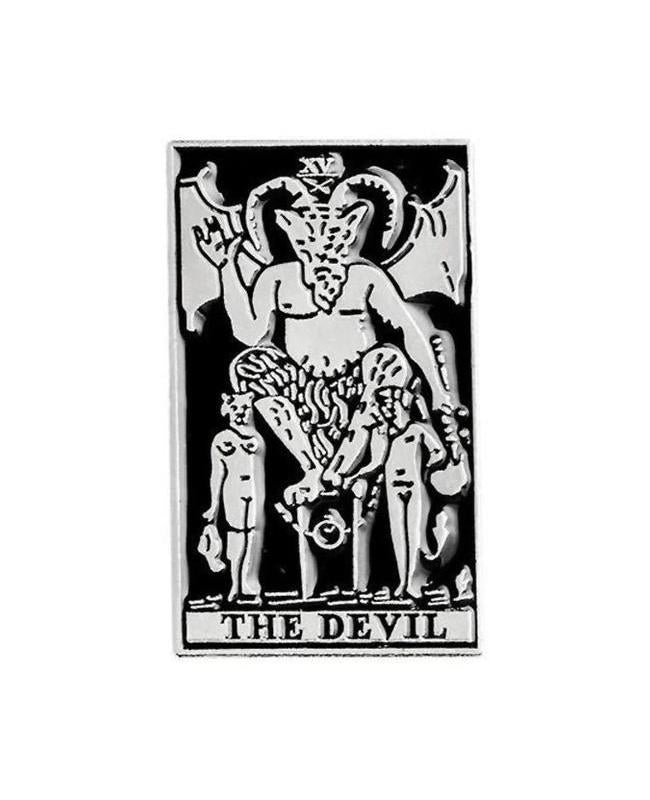 Vaudeville Rebel The Devil Tarot Card Enamel Pin | Rebel Rebel Bruges