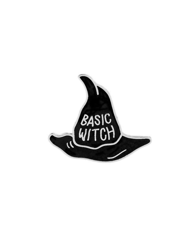 Vaudeville Rebel Basic Witch Enamel Jacket Pin | Rebel Rebel Bruges