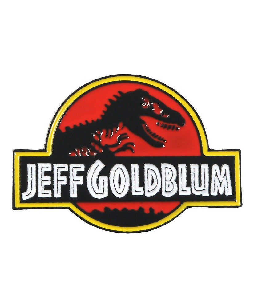 Vaudeville Rebel Jeff Goldblum Enamel Jacket Pin | Rebel Rebel Bruges