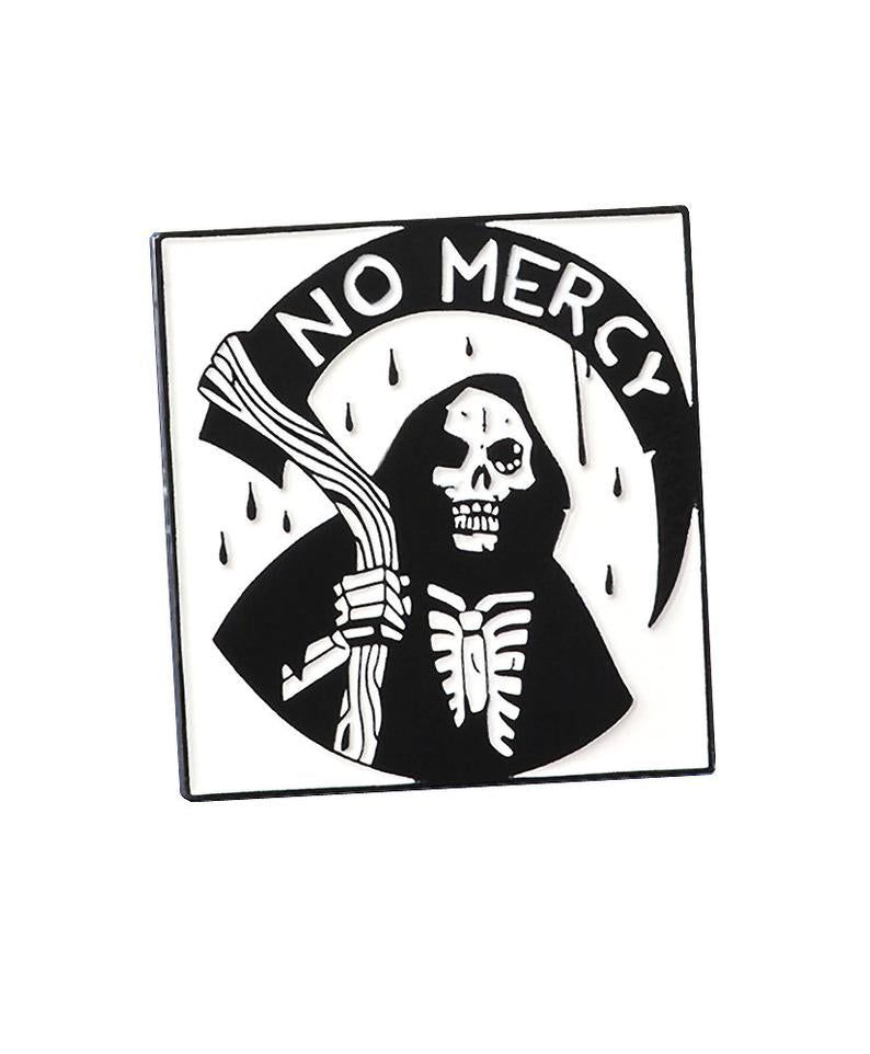 Vaudeville Rebel Death Shows No Mercy Enamel Pin | Rebel Rebel Bruges
