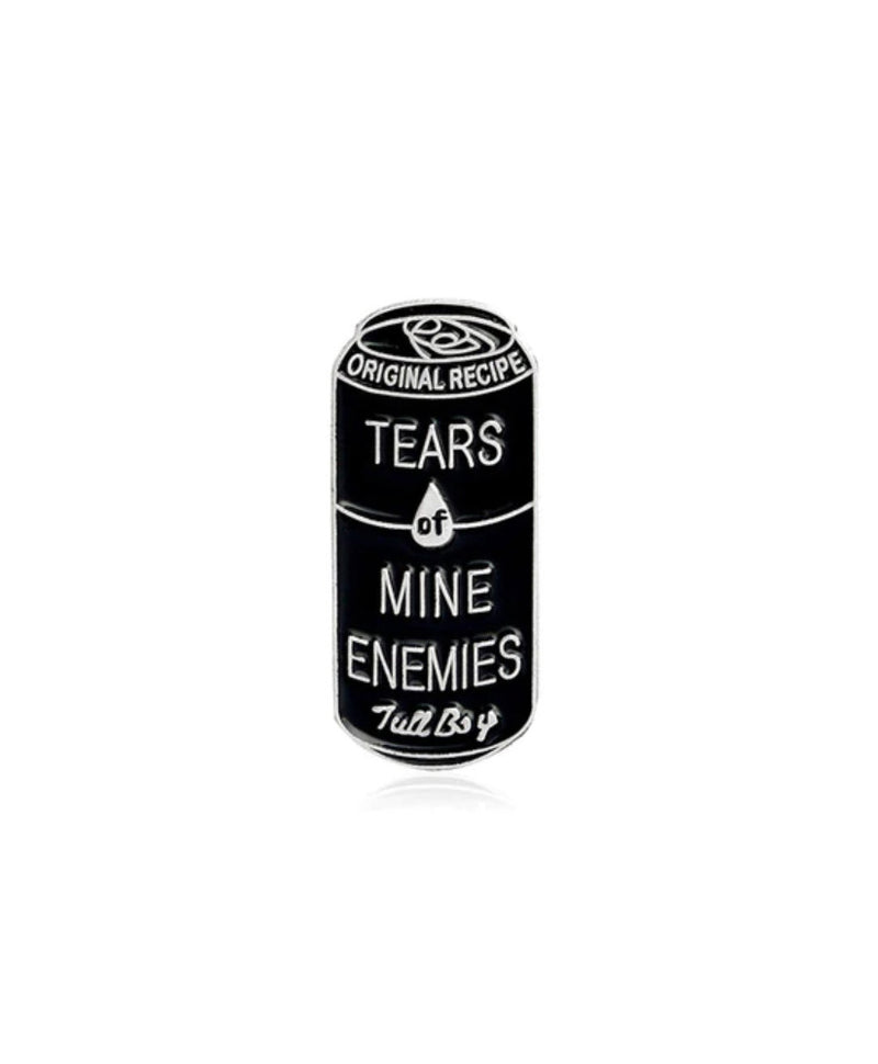 Vaudeville Rebel Tears Of Mine Enemies Enamel Pin | Rebel Rebel Bruges