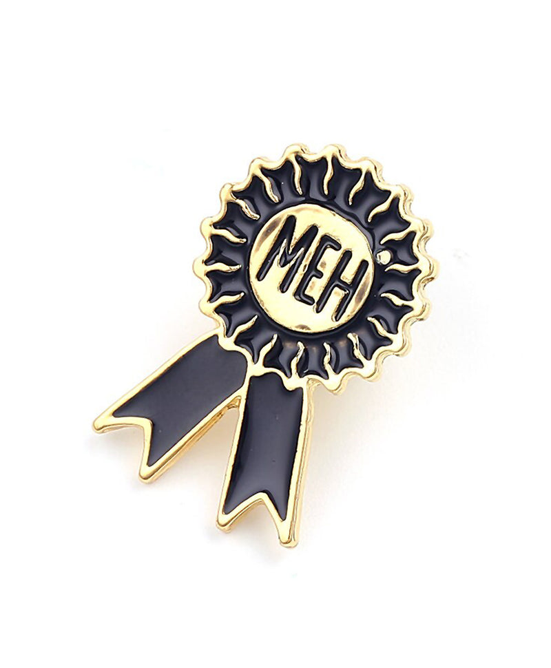Vaudeville Rebel Worst Place Rosette Enamel Pin | Rebel Rebel Bruges