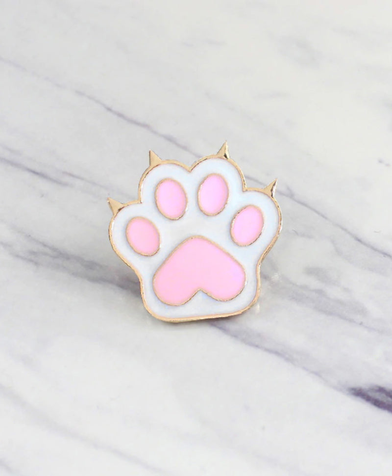 Vaudeville Rebel Kitty's Got Claws Cat Enamel Pin | Rebel Rebel Bruges