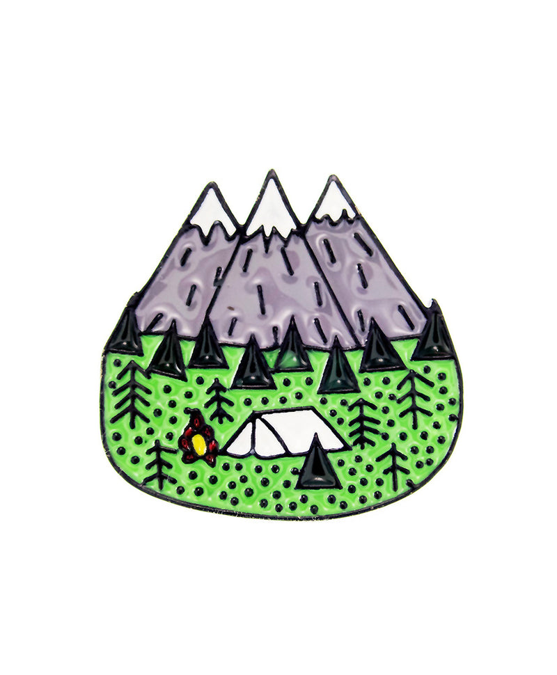 Vaudeville Rebel Take Me To The Mountains Enamel Pin | Rebel Rebel Bruges