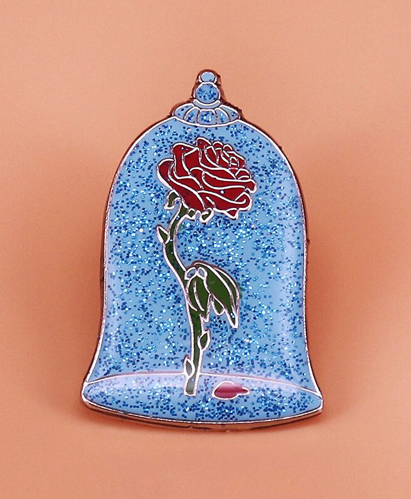 Vaudeville Rebel Enchanted Rose Disney Enamel Pin | Rebel Rebel Bruges