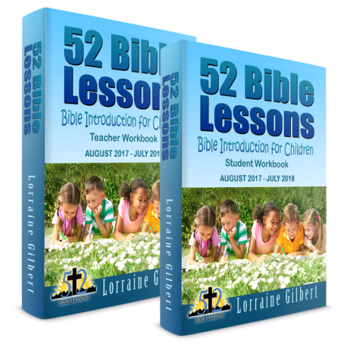 52 Bible Lessons: Bible Introduction for Children (Physical Books)