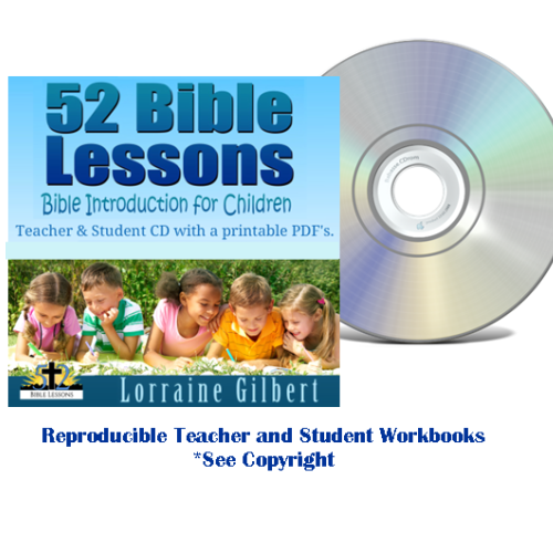 52 Bible Lessons: Bible Introduction for Children (CD, Teacher & Student)
