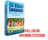 52 Bible Lesson: Bible Introduction for Children (Color Teacher Workbook)