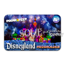 Together Forever Coco Disneyland Passholder Sticker