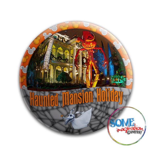 Haunted Mansion Holiday Button