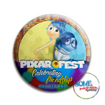 Joy & Sadness Celebrating Friendship Pixar Fest Button